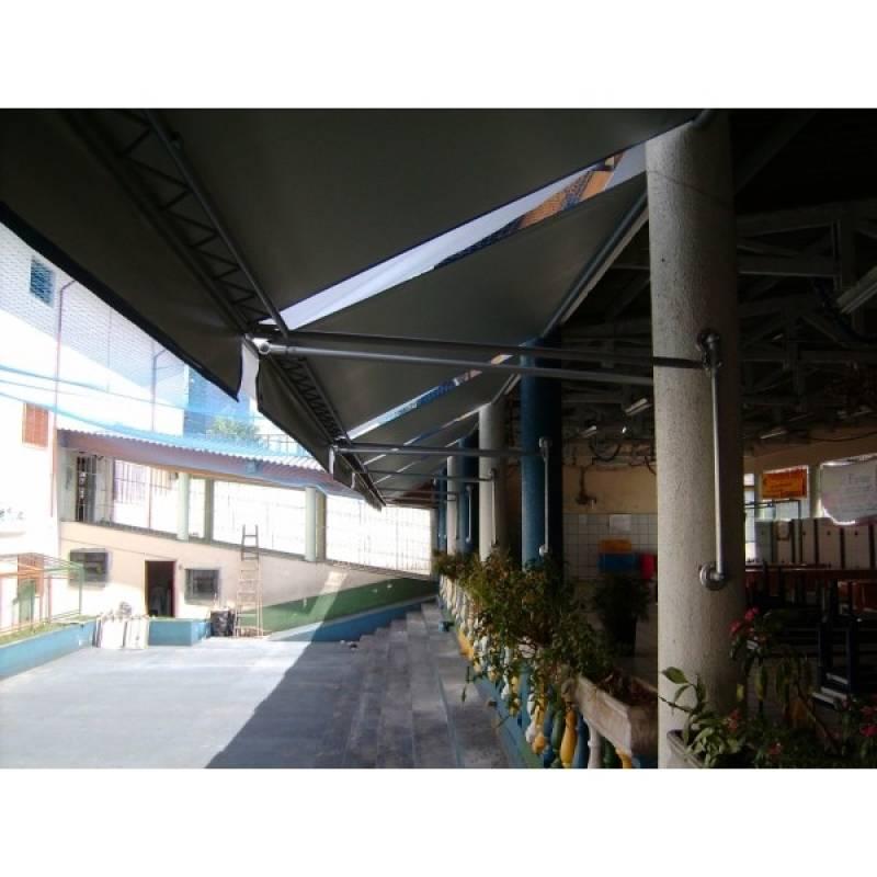 Empresa de Cobertura Retrátil para Pergolado Salesópolis - Cobertura Retrátil para Quintal