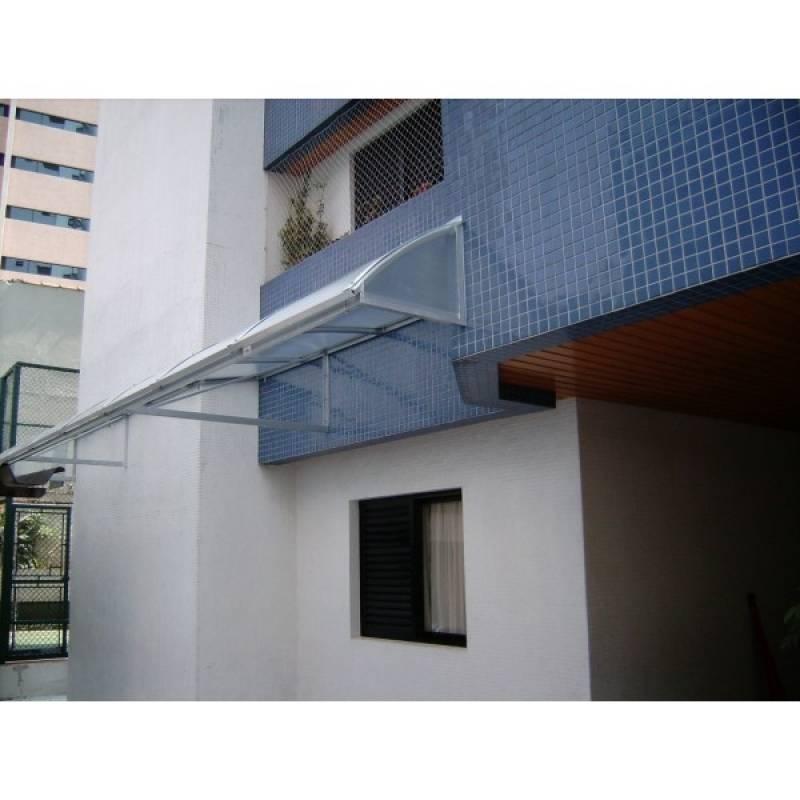 Instalação de Cobertura em Lona e Policarbonato ABC - Cobertura com Lona Plástica