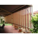 cortinas rolo para varanda
