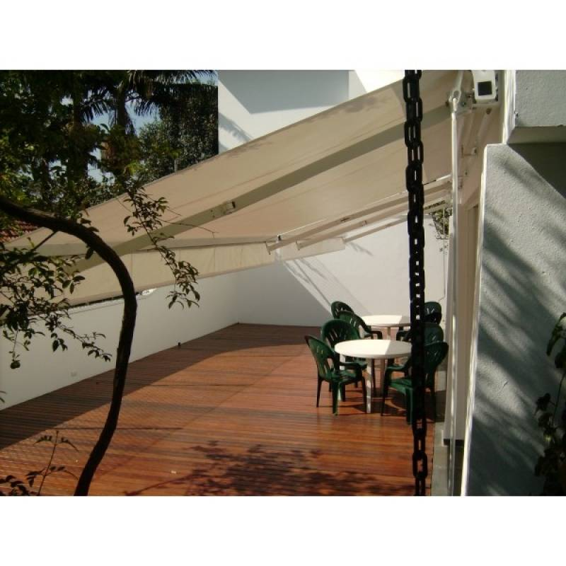 Toldo Retrátil Manual Preço Caierias - Toldo Retrátil Manual