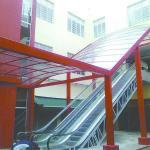 Fábrica de cobertura de policarbonato
