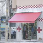 Reforma de cobertura de policarbonato